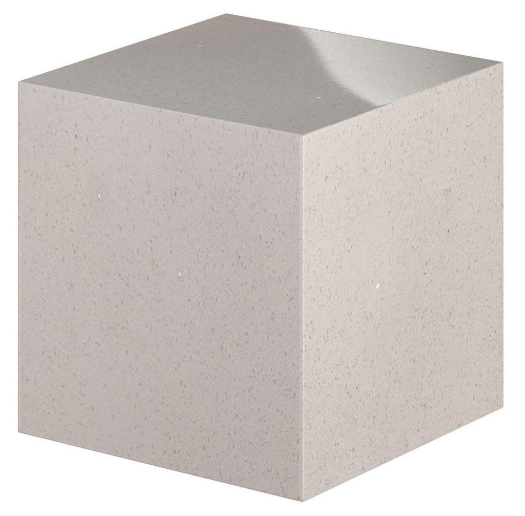 13 - White Shimmer - Cube