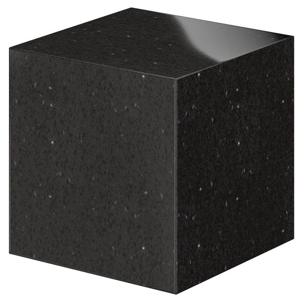 14 - Black Shimmer - Cube