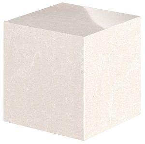 19 - Elegant White - Cube